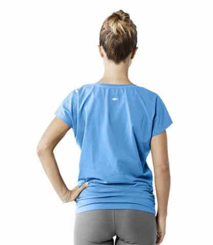 tshirt donna cotone biologico schiena