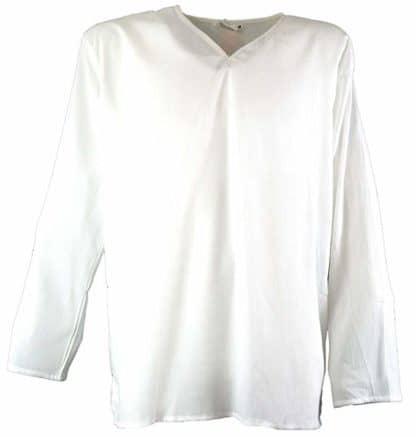 camicia yoga uomo bianca
