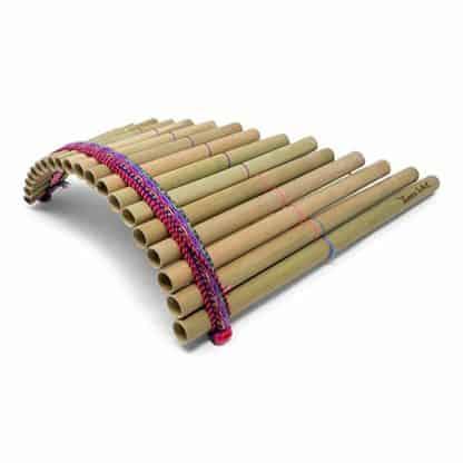 flauto di Pan bambù 20 canne