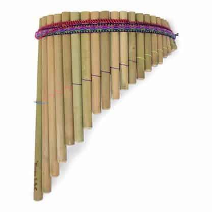 flauto di Pan bambù artigianale