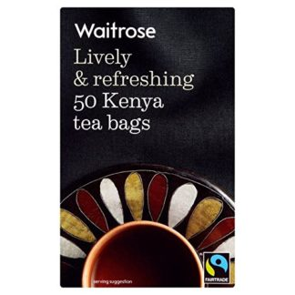 50 bustine the commercio equo solidale Waitrose